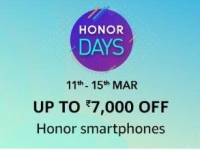 Amazon Honor Days – Upto Rs. 7000 off on Honor smartphones
