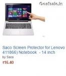 Amazon Loot : Saco Laptop Screen Protector @ Rs.16 – Amazon India