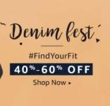 Amazon Men's Denim Fest | 40% – 60% Off
