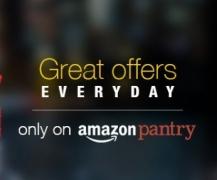 Amazon Pantry upto 50% off + Lego Chameleon + Rs. 100 off on Rs. 1500, Lego Chameleon + Rs. 300 off on Rs. 2000