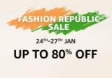 Amazon Republic Day Sale : Amazon Fashion Republic Sale 2019