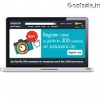 Amazon Rs. 300 Cashback on Purchase of Rs. 3000 – Amazon American Express Cards Offers