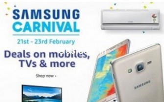 Amazon Samsung Carnival :  21st – 23rd February 2017