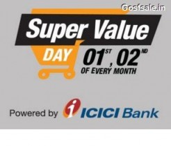 Amazon Super Value Day – 1st & 2nd of Every Month – April 1st & 2nd  – April 2017