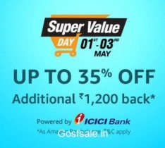 Amazon Super Value Day – 1st, 2nd & 3rd of Every Month – May 1st, 2nd & 3rd  – May 2017