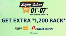 Amazon Super Value Day – Upto 50% off on Grocery,Personal Care & More