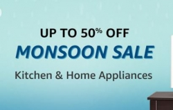 Amazon TVs & Appliances Monsoon Sale