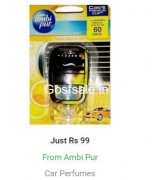 Loot Deal : Ambi Pur Car Perfumes @ Flat Rs.99 : Flipkart Big Billion Days