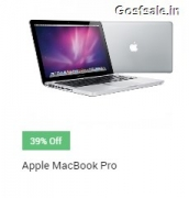 Apple Macbook Pro MD101HN/A 13-inch Laptop Rs. 55099 – Snapdeal