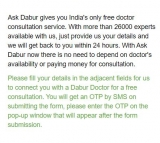 Ask Dabur – Get Free Doctor Consultation | Just ask Dabur Free Doctor Consultation