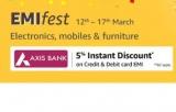 [Axis Bank Cards] Amazon EMI Fest