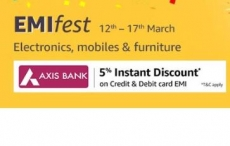 [Axis Bank Cards] Amazon EMI Fest