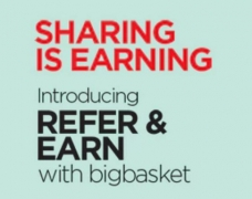 Big Basket Referral Code : bigbvq1k – Get Free Rs.100 Cashback + Refer and Earn Rs.100