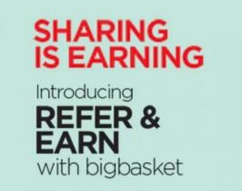 Big Basket Referral Code : bigbvq1k – Get Free Rs.100 Cashback + Refer and Earn Rs.100
