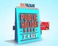 Big Bazaar Public Holiday Sale : 2 – 4 October