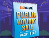 Big Bazaar Public Holiday Sale 28th Sep to 2nd Oct @ Bigbazaar: