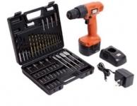 Black & Decker Cordless Drill + 50 Accessories CD121K50 @ Rs. 2999 – Amazon