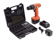 Black & Decker Cordless Drill + 50 Accessories CD121K50 Rs. 2699 – Amazon