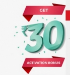 Bookmyshow Free 30 Wallet Balance : Bookmyshow Rs.30 Wallet Balance