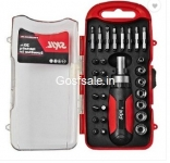 Bosch-Skil 30 Piece Ratchet Screwdriver Set Rs. 349 – FlipKart
