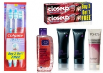 Tooth Brush, Tooth paste, Facewash at Buy 2 Get 1 Free – Amazon.in