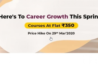 Career Growth Courses at Flat Rs.350 (90% off) – Eduonix