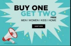 Clothing & Footwear Buy 1 Get 2 Free – FlipKart