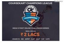 Coursekart Champion League 2016 – Win Prizes Upto 2 Lacs