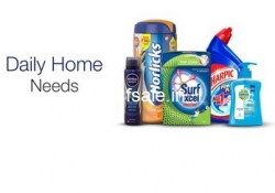 Daily Home Needs upto 50% off + upto Rs. 550 Cashback – Amazon India