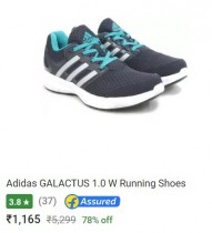Deal of the Day : Upto 80% off on Adidas Shoes – Flipkart
