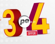 Dish TV Biggest Recharge Offer Ever – DishTV 3 pe 4 Offer