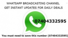 Whatsapp BroadCasting Channel : Daily Deals & Coupons Whatsapp Channel