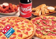 Dominos MOB50 Coupon – Dominos Pizza 50% off + 15% Cashback – Domino's Pizza