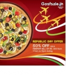 Domino's Republic Day Sale : Dominos 26th January Offer