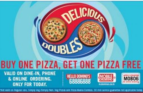 coupons for dominos 2019