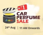Droom Car Perfume Sale Rs.1 – Rs.1 Car Perfume Sale – Car Perfume @ Rs.1