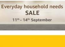 Everyday Household Needs upto 50% off + Rs. 75 Cashback Rs. 750 – Amazon