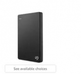 External Hard Drives upto 50% off – Amazon