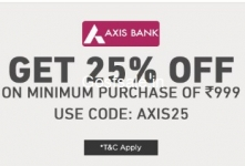 Extra 25% off on Clothing, Footwear & Accessories – Jabong
