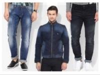 Men's Denim Clothing at Extra 35% OFF + Extra 14% Cashback – Jabong