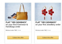 Fashion Rs. 100 Cashback on Rs. 500 – Amazon