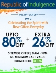 FashionandYou Republic Day Offer – Extra 26% Off