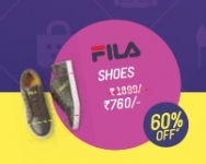 FIla Shoes Rs.760 – Flat 60% Off : Myntra End of Reason Sale