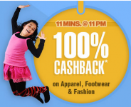FirstCry 100% Cashback – 11PM – 11:11 PM – 3rd December