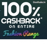 FirstCry 100% Cashback Sale : Kids Apparel, Footwear & Fashion Accessories