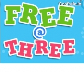 Firstcry Free at three : 13th January 3 PM : Free@Three – 100% off Free Shopping