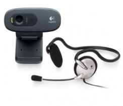 Flat 48% off on Logitech C270h HD Webcam and Stereo Headset @ Rs.1249 – Amazon