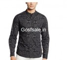 Flat 60% off on United Colors of Benetton Men's Casual Shirt ( 2 Quantity ) @ Rs.910: Amazon India