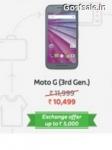 Flat Rs.1500 off on Moto G ( 3rd Gen.) Rs.10499 – Flipkart Big App Shopping Days