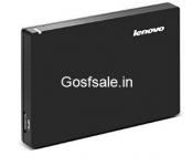 Flat Rs.2500 off on Lenovo 1TB External Hard Drive (Black)  @ Rs.3499 – Amazon